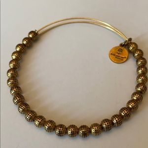 Alex and Ani gold bangle bracelet